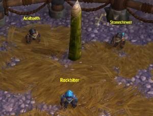 Rockbiter, Stonechewer, Acidtooth