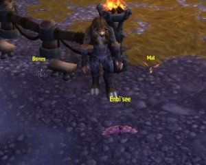 Enbi'see, Mal, Bones